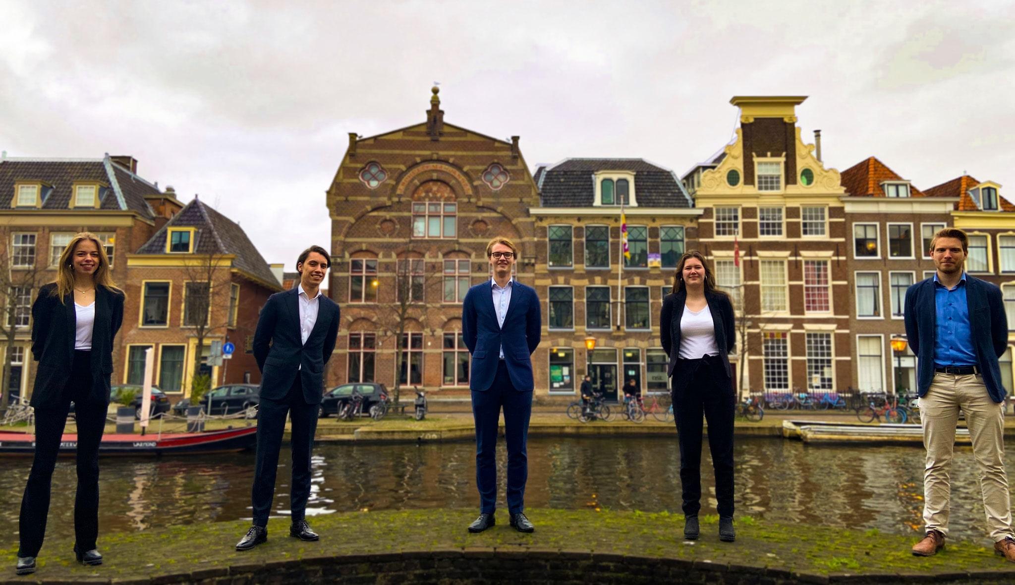 Huidig bestuur Studenten voor Leiden